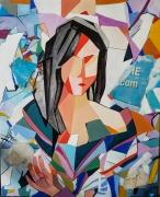 tableau personnages femme : Mona