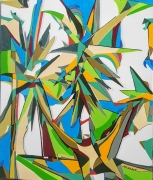 tableau autres yucca abstraction geometrie : Yucca