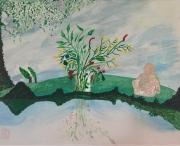 tableau autres nature spiritualite paix beaute : L'atelier de Michel