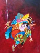 tableau personnages imaginaire poetique carnaval cadeaux : le carnaval des pendus