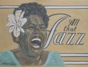 tableau personnages peintures blues peinture blues peinture jazz peintures jazz : ALL THAT JAZZ