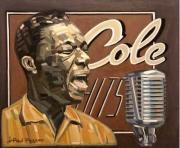 tableau personnages bluesman blues chanteur jazz : UNFORGETTABLE