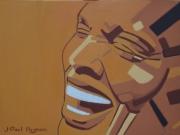 tableau personnages peinture jazz jazz painting portrait jazz jazzman : FRAGMENT OGF LIGHT