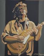 tableau personnages peinture blues blues painting paul personne portrait blues : PATCHWORK ELECTRIQUE