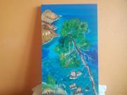 tableau marine : Roquebrune