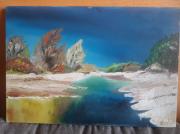 tableau paysages : Rivière américaine