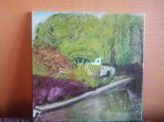 tableau paysages : Canal corbeille Essonne