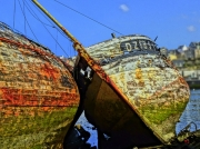 photo marine bretagne douarnenez bateau cimetiere : Epave Douarnenez (29)