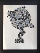 dessin abstrait : Déséquilibre