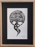 dessin abstrait : libérté
