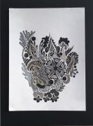 dessin abstrait : Amalgame