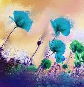 art numerique fleurs fleurs printemps : Fleurs