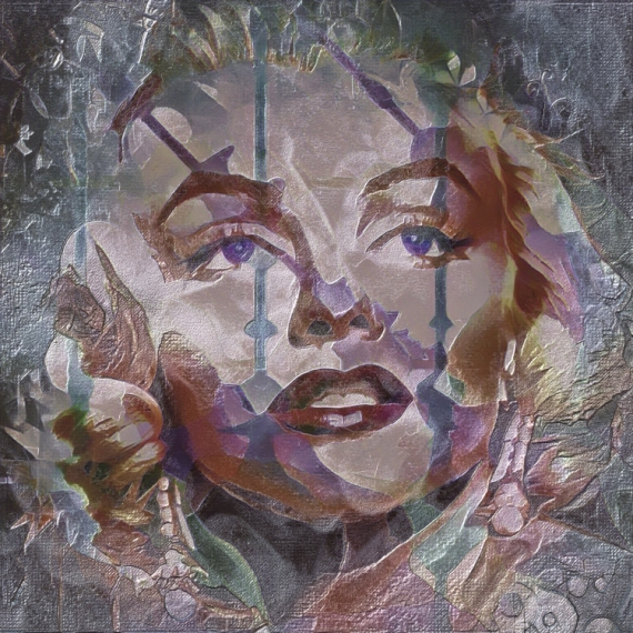 ART NUMéRIQUE Marylin Monroe Personnages  - Marylin Monroe