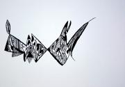 dessin abstrait : Mona Ki