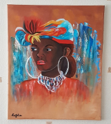 tableau personnages : Femme Africaine