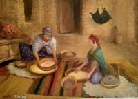 Femmes prépare le coucous
