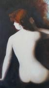 tableau nus rousse henner beaute : Je te quitte