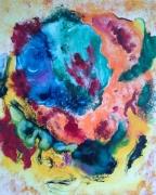 tableau abstrait couleurs reves cerveau chatoyant : Brainstorm