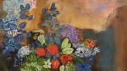 tableau paysages odilon redon : Aurore