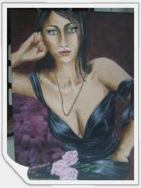 """La robe noire"""