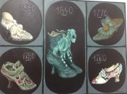 tableau autres souliers epoque diverse : Souliers d'époque
