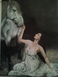 """Le cheval blanc"""