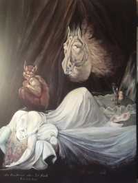 """Le cauchemar"" selon Fusseli"