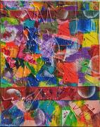 tableau abstrait : Platum