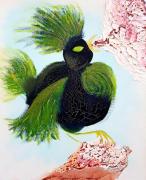 tableau animaux oiseau rage vengeance sang : Dindona or The rage