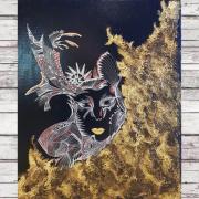 tableau personnages masque venitien : Le Mask