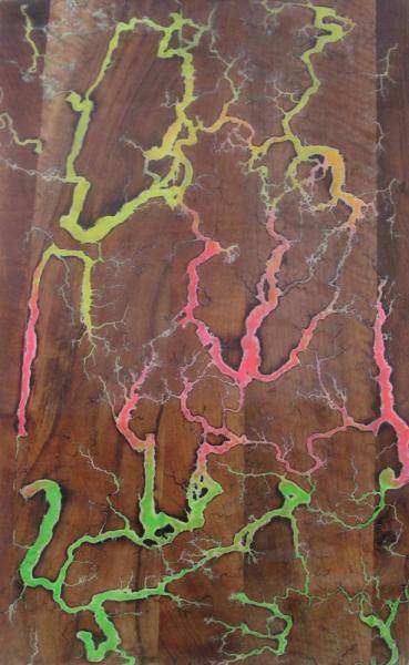 DéCO, DESIGN bois Résine  - plaque bois noyer/résine2
