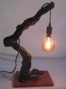 deco design autres luminaire resine bois : Luminaire bois flotté