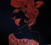 dessin autres dessin ethnique : Geisha