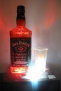 deco design autres luminaire resine led : lampe bouteille