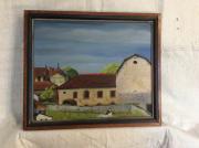 tableau architecture moulin pierre champetre poetique reve : Moulin Lorette