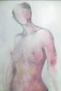 tableau nus nue femme buste : nue