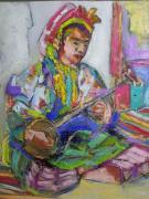 tableau personnages : La musicienne