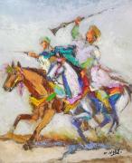 tableau personnages : Les cavalier