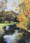 tableau paysages : IO Marais en automne