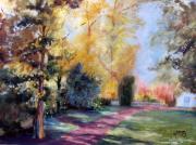 tableau paysages sous bois la remigease oleron : Sous bois