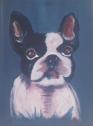 tableau bouledogue pop art chien bestiaire : N°9