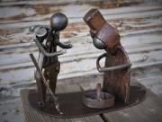 sculpture personnages : Pensée pour Millet