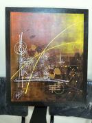 tableau abstrait toile peinture abstrait abstraite peinture acrylique tableau original : Objectif