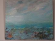 tableau marine marine ciel brume solitude : marine