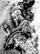 tableau personnages ragnar viking : Ragnar