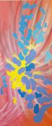 tableau abstrait couleurs mouvements joie abstrait : METAMORPHOSE