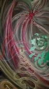 tableau abstrait couleurs mouvements perspectives abstrait : ENCHANTE