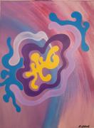 tableau abstrait : Eternité