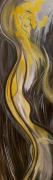 tableau abstrait animal reve licorne abstrait : SOUVENIR FUTUR
