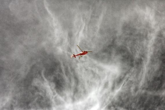 PHOTOGRAPHY hélicoptère vol secours  - En vol!